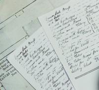 手書き帳表
